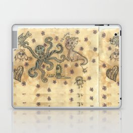 Silly Octopus Laptop & iPad Skin
