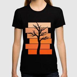 Tree Silhouette (Desert Sky) T-shirt