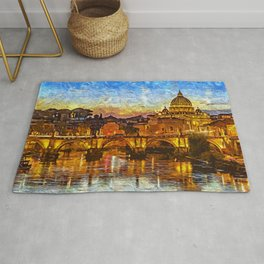 Rome and the Vatican City Rug