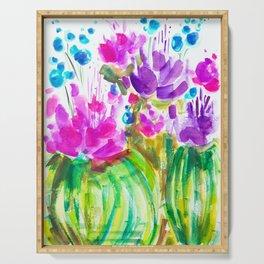 Flowerista Cactus Serving Tray