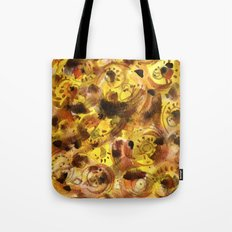 Bird and bugs on a sunny day. Tote Bag