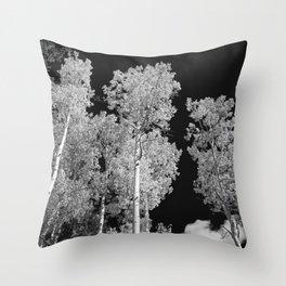 Aspens of Owl Creek Pass Throw Pillow