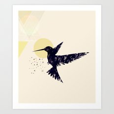 Bird X Art Print