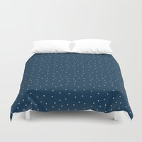 palms Duvet Covers featuring Palms by Pete Baker