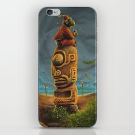 Koshi Greets The Storm iPhone Skin