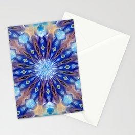 Seasons pattern mandala Stationery Cards