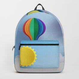 Balloon Festival 3D Paper Art Backpack