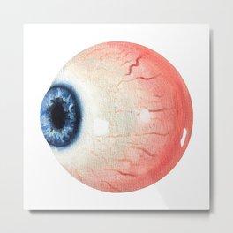 Eye ball Metal Print