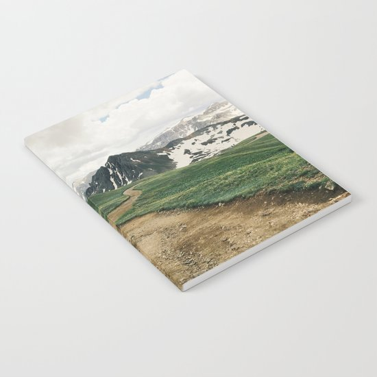 Colorado Mountain Road Notebook