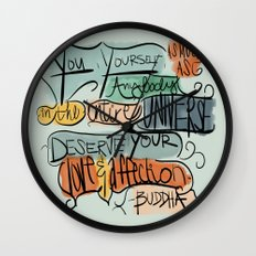 Love & Affection Wall Clock