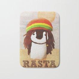 Reggae Penguin Bath Mat