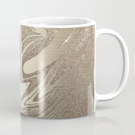 Mermaid Gold Wave Coffee Mug