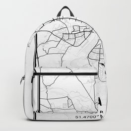 Halle Light City Map Backpack