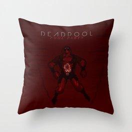 Deadpool - Pool Party Throw Pillow