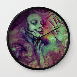 """""""Siren universe nebula"""" Wall Clock"""