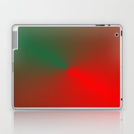 SURPRISE - RED GREEN HEART Laptop & iPad Skin