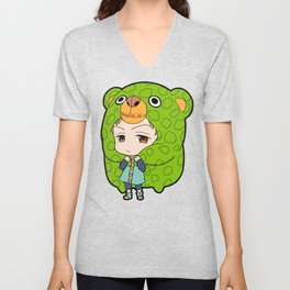 Grizzly's Sin Of Sloth - King Unisex V-Neck