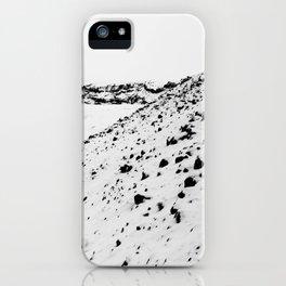 Black White World iPhone Case