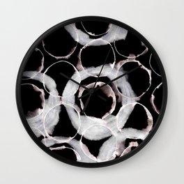 Overlapping Circles Wall Clock