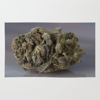 medical Area & Throw Rugs featuring Bordello Medicinal Medical Marijuana by BudProducts.us