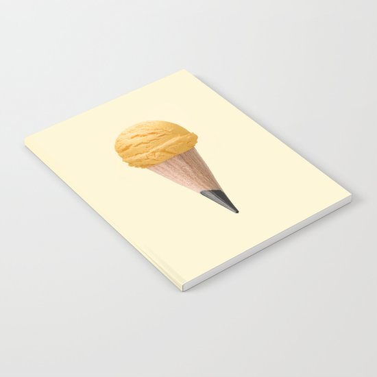 ICE CREAM PENCIL Notebook