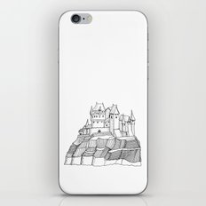 Castle on the cliff iPhone & iPod Skin