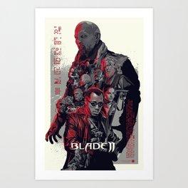 Blade II • Vector Art Art Print