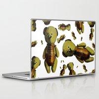 teddy bear Laptop & iPad Skins featuring Teddy-bear by Кaterina Кalinich