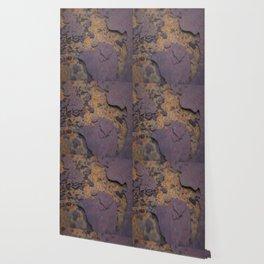 Rust on Rust rustic decor Wallpaper