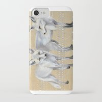foxes iPhone & iPod Cases featuring foxes by Ashley White Jacobsen