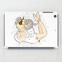 aries iPad Cases featuring Aries by Mhel