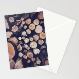 firewood no. 1 Stationery Cards