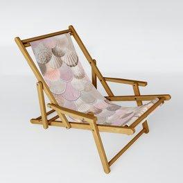 MERMAID SHELLS - CORAL ROSEGOLD Sling Chair