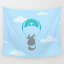Chinthrilla Wall Tapestry