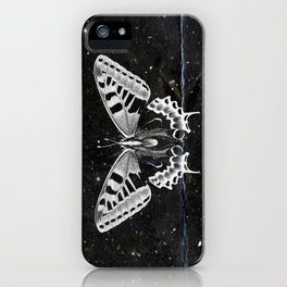 Butterfly in the stars iPhone Case