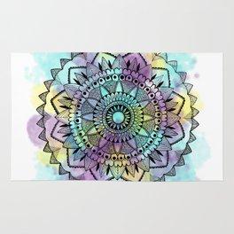 Colourwash Mandala Rug