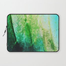 STORMY MINT AND GREEN v2 Laptop Sleeve