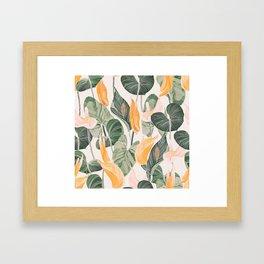 Lush Lily - Autumn Framed Art Print