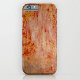 Red Rust iPhone Case
