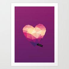 Vector Love 01 Art Print