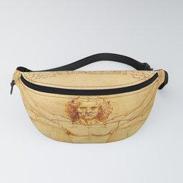 "Leonardo da Vinci ""The Vitruvian Man"" Fanny Pack"
