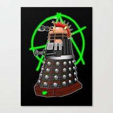 Punk Dalek Canvas Print