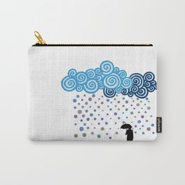 Marble rain Carry-All Pouch