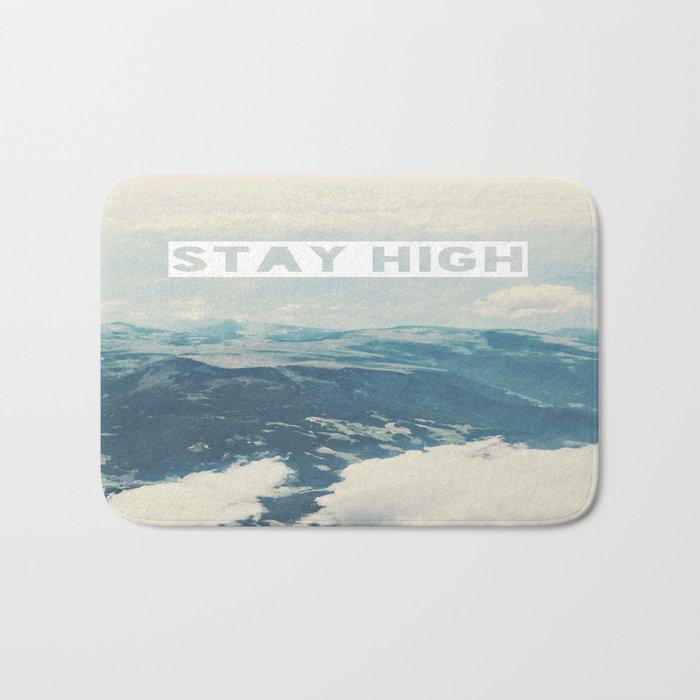 Stay High Bath Mat