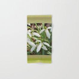 Spring Snowdrops Hand & Bath Towel