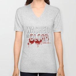 Washed in Blood Unisex V-Neck