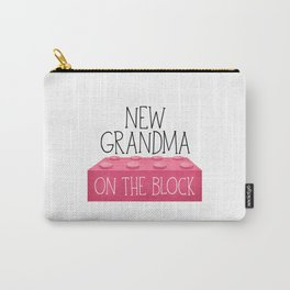 New Grandma On The Block Carry-All Pouch