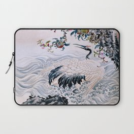 Flowers and Bird Laptop Sleeve