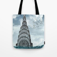 above the water line Tote Bag