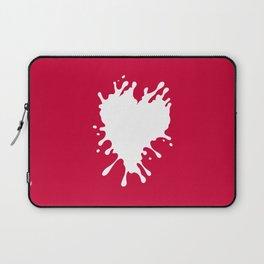Splatter Heart Laptop Sleeve